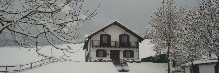 Albergue Mendilatz nevado